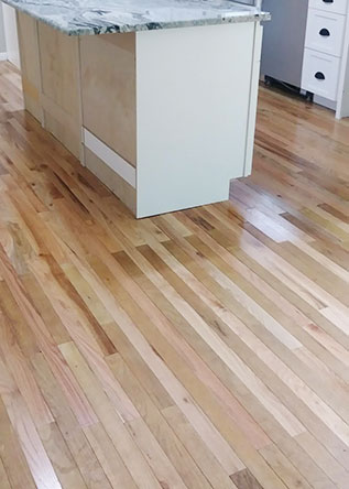 Glouster County NJ hardwood floor before