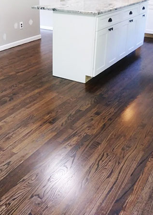 hardwood floor after Cherry Hill NJ