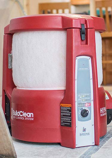 BuildClean Air scrubber