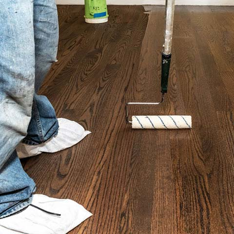 Refinishing Wood Floor in Haddon Township NJ
